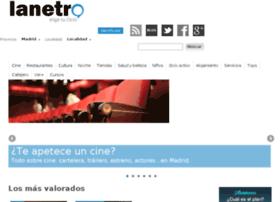 madrid.lanetro.com