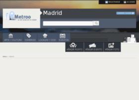 madrid.metroo.es