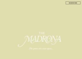 madronamanor.com