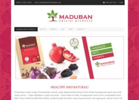 madubannaturals.com