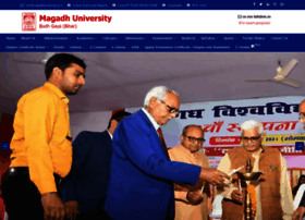 magadhuniversity.ac.in