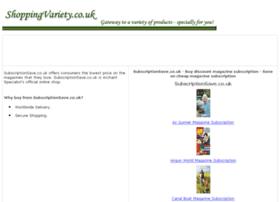 magazine-subscription.shoppingvariety.co.uk