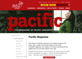 magazine.pacificu.edu