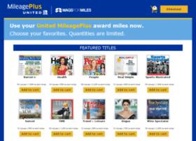 magazinerewards.mileageplus.com