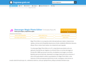 magic-photo-editor.programas-gratis.net