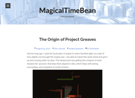 magicaltimebean.com