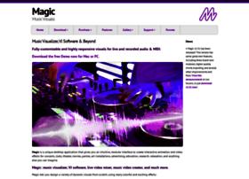 magicmusicvisuals.com