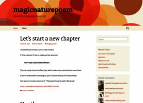 magicnaturepoem.wordpress.com
