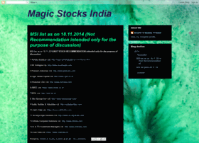 magicstocksindia.blogspot.in