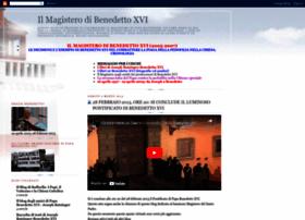 magisterobenedettoxvi.blogspot.it