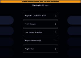 maglev2000.com