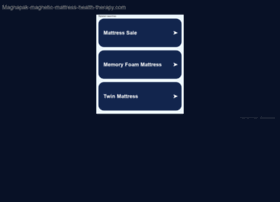 magnapak-magnetic-mattress-health-therapy.com