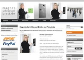 magnet-schluessel-brett.de