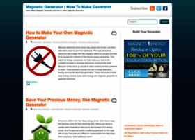 magnetic--generator.blogspot.com