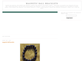 magnetic-ball-bracelets.blogspot.com