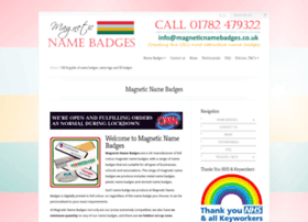 magneticnamebadges.co.uk