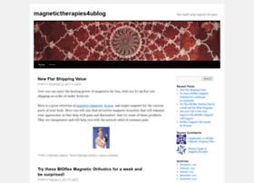 magnetictherapies4ublog.wordpress.com