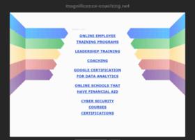 magnificence-coaching.net