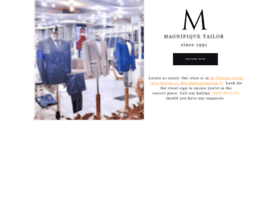 magnifiquetailor.com