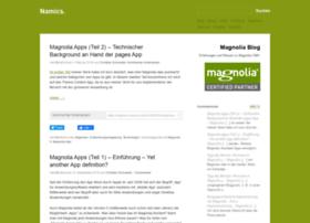 magnolia.namics.com