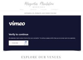 magnoliaplantationweddings.net