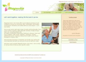 magnoliaseniorcarehome.com