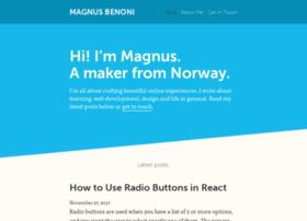 magnusbenoni.com
