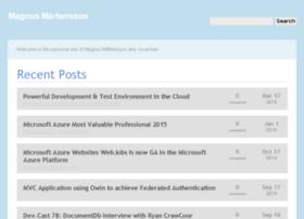 magnusmartensson.com