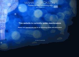 mahaliajacksontheater.com