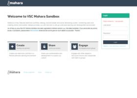 mahara.ccv.edu