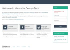 mahara.gatech.edu