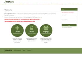 mahara.uncc.edu