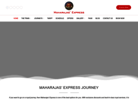 maharajas-express-india.com