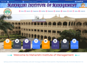 maharishiinstituteofmanagement.com