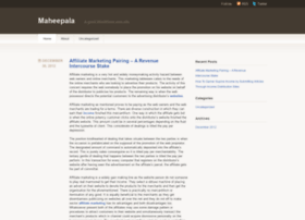 maheepala.wordpress.com