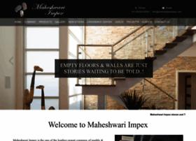 maheshwarimpex.com