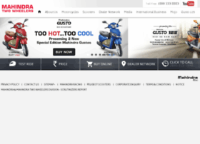 mahindra2wheelers.com