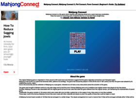 mahjongconnect.net