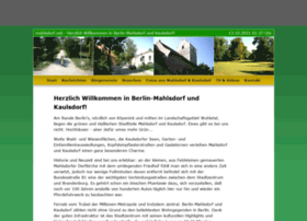 mahlsdorf.net