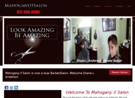 mahoganyiisalon.com