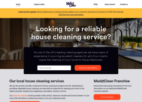 maid2clean.co.uk