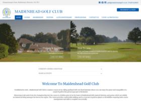maidenheadgolf.co.uk