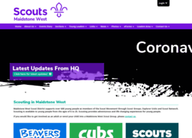 maidstonewestscouts.org.uk