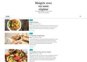 maigrir-avec-sans-regime.com