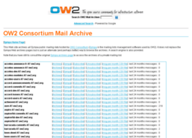 mail-archive.ow2.org