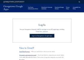 mail.georgetown.edu
