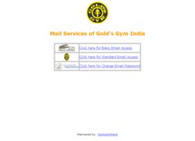 mail.goldsgymindia.com