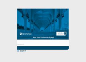 mail.ksu.edu.sa