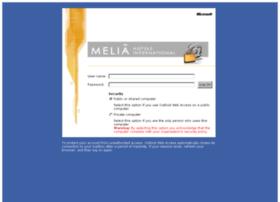 mail.melia.com