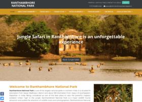 mail.ranthambhorenationalpark.in